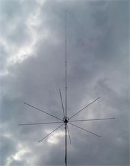 Antenne CB vertical Mantova-8-Turbo