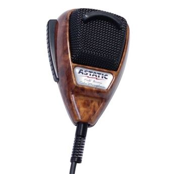 Micro Astatic 636 LWG Version Luxe Bois - Radio Ham Electronic